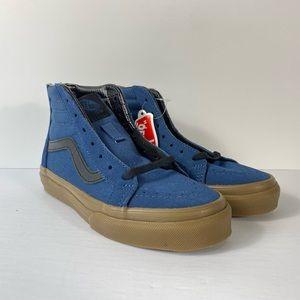 Vans Sk8-Hi Zip Gum Outsole Dark Denim Sneakers